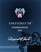 """Imperium"" I.G.T. ""Salento"" White Wine Chardonnay 100%  The grapes are picked and carried to the winery on small carts. After crushing and stemming the product is cooled and static settlings takes place The product is left 6 months in Allier oak barriques Alcohol 12,50 % vol. Total acidity 4,70 g/l Total sulphorous dioxide 60 mg/l pH 3,74 matches perfectly with fish soups, creyfish, lobsters and prawns. Dishes with mushrooms and truffles, boiler meat. Good with herbal cheese after it has been matured for some years."